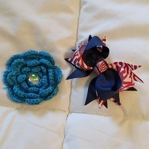 Hairbows for infant set of 2